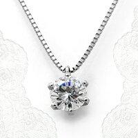 ダイヤモンドネックレスプラチナ一粒GIA鑑定書付き0.71ct