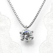 ダイヤモンドネックレスプラチナ稀少最高級品質FL(フローレス)鑑定書付き0.452ct