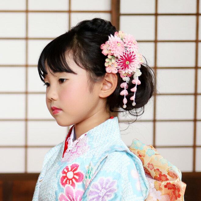 【レンタル】【七五三 髪飾りレンタル】7歳 髪飾り 2058