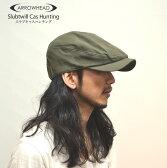 ARROWHEADアローヘッド スラブツイルキャスハンチング キャップ 帽子 フリーサイズ ビックサイズ(大きいサイズ ゴルフ用)