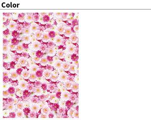 Jebrilleジュブリー壁紙FlowerGerberaPinkPetite日本製フリースデジタルプリント壁紙不織布壁紙フリース壁紙貼ってはがせる壁紙DIY壁紙【46cmx10m】【送料無料】花柄ガーベラレディース