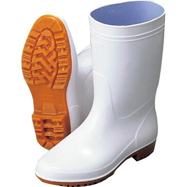 【 新品 】弘進ゴム 抗菌 白長靴 ゾナ G3 (耐油性) 23.5cm 【 日本製 厨房長靴 シューズ 防カビ ビニール 滑りにくい 】【代引き不可】