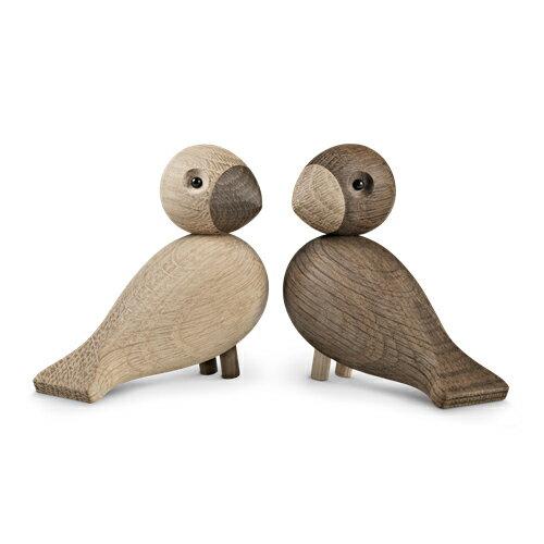 カイボイスン ペア・ラブバード【kaybojesen】【lovebird】【turtur】【alfred】【北欧】【北欧雑貨】【木製】【木製玩具】【置物】【カイボイスン】【オブジェ】【小鳥】【ペア】【ペアバード】【ナチュラル】【送料無料】