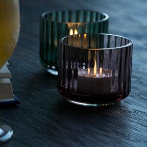 リュンビューポーセリンキャンドルホルダー全3色【TealightholderGlass】【lyngbyporclaen】【グラス】【北欧雑貨】【北欧インテリア】【キャンドル】【マウスブロー】【コペンハーゲン】