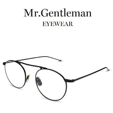 Mr.Gentleman ミスタージェントルマン BASQUIAT C Matte Black メンズ レディース メイドインジャパン 度付きメガネ 伊達メガネ 日本製 本格眼鏡 (お取り寄せ)