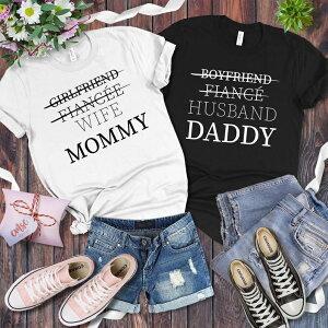 2枚セット ギフト 結婚祝い 出産祝い プレゼント お揃いコーデ カップル Tシャツ トップス レディース メンズ