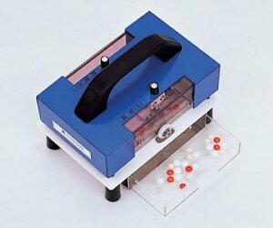 錠剤のPTP包装を手前に引くだけで、一度で簡単に取り出せます。【送料無料】錠剤除包器 らく錠...