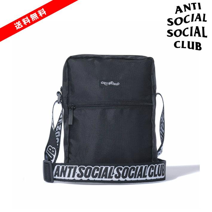 メンズバッグ, ショルダーバッグ・メッセンジャーバッグ  ASSC Black Side Bag Shoulder Bag ANTI SOCIAL SOCIAL CLUB Black ASSC ANTI SOCIAL SOCIAL CLUB