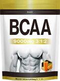 BCAA パウダー 9000mg BCAA サプリメント マンゴー風味500g40食分 幸せラボ 送料無料 BULKEY バルキー