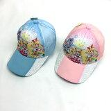 【メール便送料無料】フレッシュプリキュアキャップベースボールキャップ子供用キッズ帽子53cm54cm55cmメッシュブルーピンク