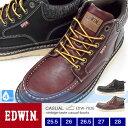 【送料無料】EDWIN メンズ 4cm防水/防滑ブーツ 7926 25...