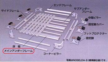 アイバワークス・ノセルダ用(NOSELDA)メインアンダーフレームA(1300幅)【代引き不可】