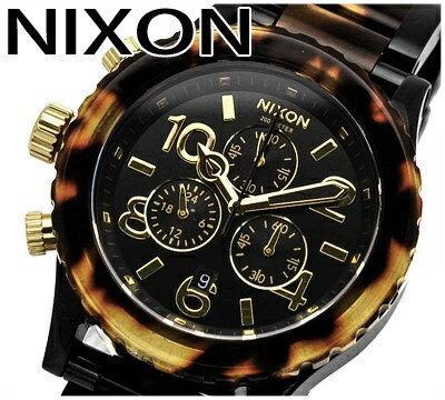ニクソン/NIXON ボーイズ(男女兼用)時計べっこう/べっ甲42-20 Chro...