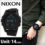 NIXON/ニクソンメンズ腕時計Unit(ユニット)全13色【A197】あす楽対応/新品、本物、当店在庫だから安心