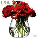 LSA / FLOWER TABLE BOUQUET VASETLA1979 フラワー ベース(H17cm)箱入りサイズ:W17×D17×H17cm 口径約11cm 口径内寸:約9.5cmガラス シンプル 円柱 丸 母の日 ギフト