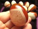 まとめて撮影 大人気卵型! サードオニキス エッグ型置物 高さ40-50mm 卵...