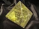 ピラミッドパワー 超透明 AAAAAシトリンのピラミッド  天然石ピラミッド...