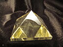 ピラミッドパワー 超透明AAAAAシトリンのピラミッド  天然石ピラミッド置...
