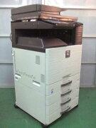 【】シャープカラー複合機MX-2517FN+PS拡張4段給紙カセットモデル