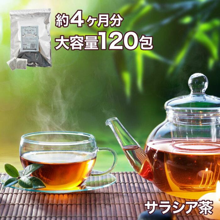 サラシア茶 2g×120包 大容量4ヶ月分 ノンカフェインで天然のサラシア茶を送料無料で!ダイエットやデトックスティーとして!コタラヒム茶としても知られています。 オーガニック ダイエット デトックス 天然 ボタニカル 紅茶 ティーバッグ