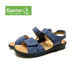 【お買い得セール】ガンター(Ganter)レディース靴サンダル202854幅2E〜3Eベルクロマジックベルトドイツ最高級コンフォートシューズ