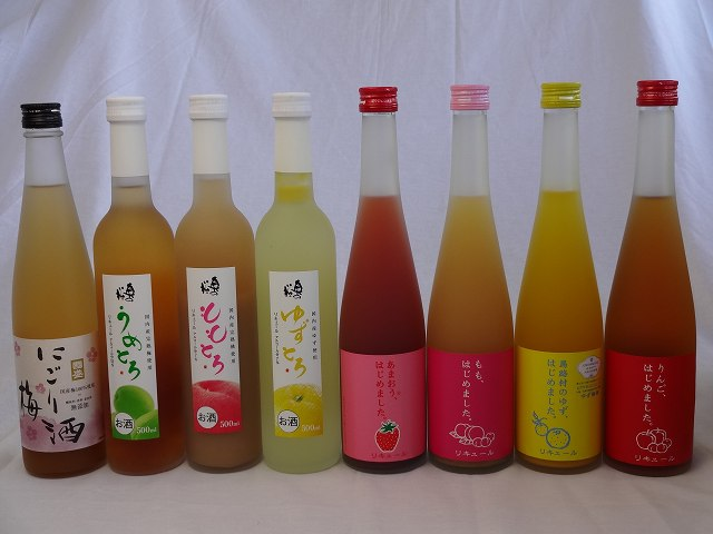 日本酒・焼酎, 梅酒 8 ( ) 500ml8