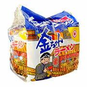 1回の送料で3箱90食までお届け可能です。金ちゃんラーメン1箱5食入×6袋