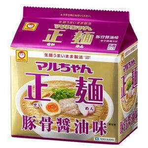 1回の送料で3箱までお届け可能です。東洋水産 マルちゃん正麺 豚骨味 1箱5食入×6袋