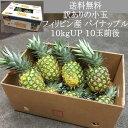 送料無料 訳ありの小玉 フィリピン産 パイナップル 10kg...