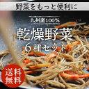 【送料無料】乾燥野菜ミックス 6種1パックづつのおためしセッ...