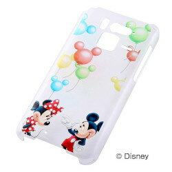 Disney Mobile F-07E用 ディズニー・クリアラメ・シェルジャケット/バルーン(RT-DF07EA/BR)【受注発注】【RCP】