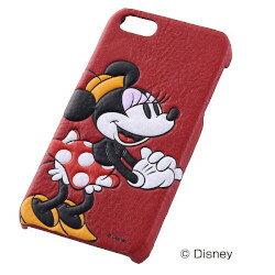 【iPhone5 ケース】iPhone5s/5用 ディズニーオープンタイプ・レザージャケット合皮ミニー(RT-DP5SB/MN)【受注発注】【RCP】