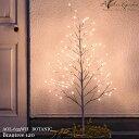 【全品5%OFFクーポン配布中!7/4(土)20:00~7/11(土)01:59まで】スワン電器 Another garden BOTANIC Brantree 120 AOL-635WH ボタニックブランツリー120 おしゃれ ツリー クリスマス イルミネーション ライト 1200mm LED 調光機能 エクステリア リビング
