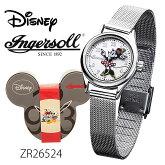 IngersollDisneyクラシックタイムコレクション(ミニーマウスウォッチ)ZR26524時計