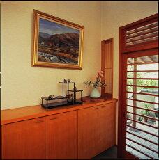【送料無料】木製飾り棚黒檀調三段60cm×20cmの木製飾り棚です/和室/華道/園芸/床の間/内祝/新築祝等々に・・