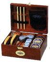 木箱に入った本格的なシューケアセット3150円以上お買い上げで送料無料欧州の靴クリームセット...