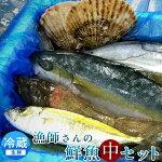 活魚気仙沼鮮魚セット[中]宮城県産漁師直送季節のおまかせお魚ボックス