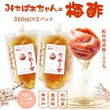 『梅酢 パウチ350ml×2』うめ〜ず【ネコポス送料無料】無添加 梅酢 うめ酢 うめず すっぱい 美味しい おいしい