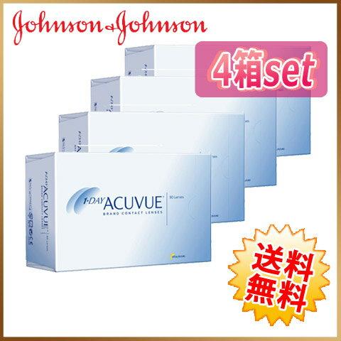 ◆◆【送料無料】ワンデーアキュビュー 90枚 4箱(30枚×12箱)ジョンソンエンドジョンソン johnson acvue 【1day】【メーカー直送】【代引不可】