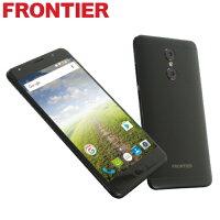 【楽天】FRONTIER FR7101AK 黒 Android 7.0 ハイスペック SIMフリースマートフォン FRONTIER(フロンティア)【新品】