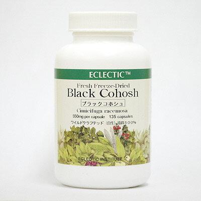 ブラックコホシュFFD135カプセル ブラックコホッシュ ブラックコーホーシュ シミシフーガ Black cohosh エクレクティック研究所ECLECTIC メディカルハーブサプリメント