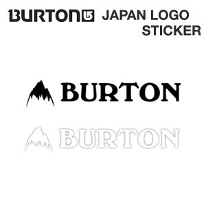 BURTON バートン JAPAN LOGO STCKR ジャパン ロゴ ステッカー 【正規品】
