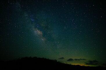 【ネコポス対応】風景写真 ポストカード 空 雲 星 月 飛行機 花 風景空の写真家 フォトグラファー 写真【SIESTA】【空工房】「天の川」