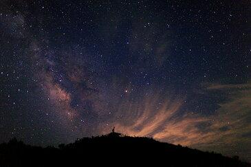 【ネコポス対応】風景写真 ポストカード 空 雲 星 月 飛行機 花 風景空の写真家 フォトグラファー 写真【SIESTA】【空工房】「星の煌めき」