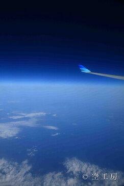 【ネコポス対応】風景写真 ポストカード 空 雲 星 月 飛行機 花 風景空の写真家 フォトグラファー 写真【SIESTA】【空工房】「宇宙へ」