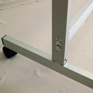 ホワイトボード脚付き両面1800×900回転式脚付マグネット対応【送料込み】