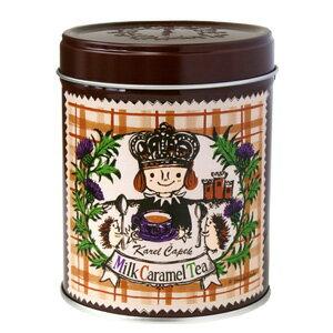 カレルチャペック ミルクキャラメルティー 季節限定紅茶缶(リーフ50g) 【ポイント5倍/在庫有】【食品】【RCP】【p0821】
