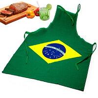 ブラジル国旗エプロン(大人用)