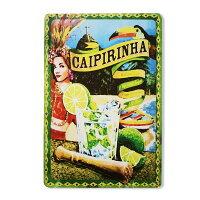 【飾れる】リオの景色壁掛けカイピリーニャ看板【Caipirinha】