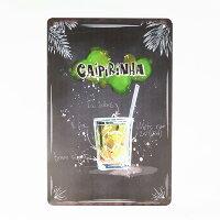アート風ボードカイピリーニャ看板【Caipirinha】